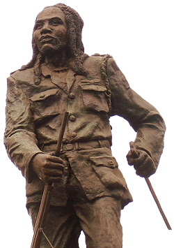 Statue of Dedan Kimathi - Mau Mau Fighter