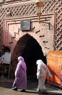 Berber Women in Marrakesh